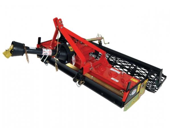 r2 mtz170 - herse rotative 155 cm - rouleau 170 cm - pour tracteur