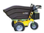 Next: Alitrak Electric dumper DT-300P E with 3 wheels and a load capacity of 200 kg, plastic skip