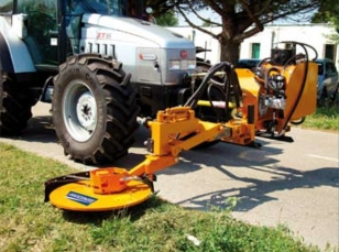 Swing-mowers for tractors