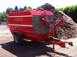 Machines for waste disposal (Chipper Mixer series)