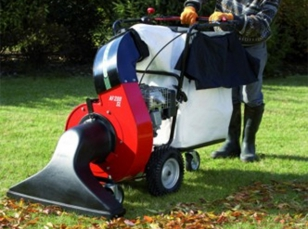 Leaf vacuum cleaners