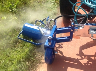 Attachments weed control machines