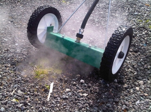 Attachments weed control machines with steam