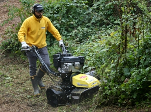 Open rough terrain mowers