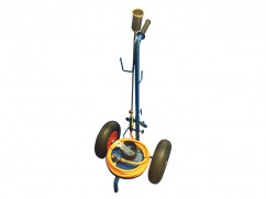 Gaz weed burner with trolley - professional version