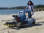 Multifunctional beach cleaning machines